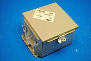 Hoffman A606ch 6 X 6 X 4 Jic Metal Junction Box Nema 12 Gasketed Cover New