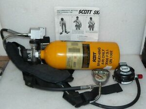 Scott Ska pak Tc 3hwm 207 Wy23679 Luxfer Scba Emergency Air Tank 3000 Psi
