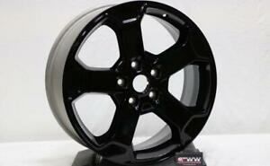 Jeep Grand Cherokee 18 2018 18 Gloss Black Factory Oem Wheel Rim