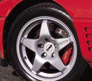 Vintage Dymag Zr 1 Style Magnesium Wheels 4 World Challenge Style 17 X 10