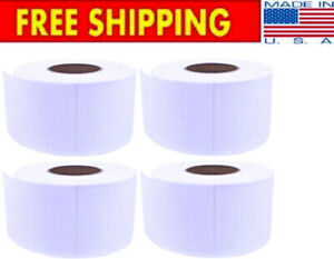 4x6 Direct Thermal Labels Roll 3 Core zebra eltron ups free Shipping