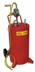 Fuel Caddy Steel Material 25 Gal Capacity Used For Gasoline Diesel