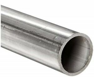 Round Tubing 304 Stainless Steel 1 Od X 6 Ft Welded 0 902 Inside Dia