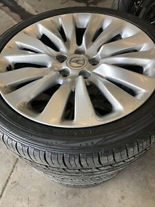 19 Inch Acura Rims With Almost Brand New Tires 245 40 19 The Brand Is N5000 Plus