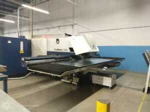Trumpf Trumatic 3000 Punch Laser Combo Cnc Turret Punch New 2011