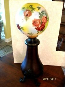 Antique Bradley And Hubbard Oil Lamp