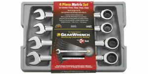 Gearwrench 4pc Large Metric Ratcheting Wrench Set 9413