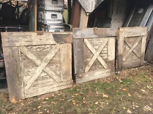Vintage Architectural Salvage Barn Door Farm Wedding 48in X 46in