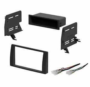 Single Double Din Dash Kit For 2002 2006 Toyota Camry To Install Stereo Radio