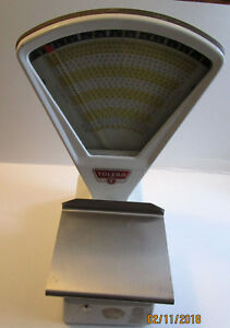Vintage Toledo 3111 Candy Counter 6 Lb Scale Clean Working 1978 Usa