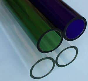 Borosilicate Glass Tubing Od 51mm Wall Thickness 5mm 4 Pieces Free Shipping