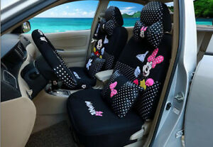1 Sets Luxury Cute Universal Cartoon Mickey Mouse Car Cushion Car Seat Cover 803