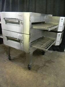 Lincoln Impinger Conveyor Double Stack Pizza Gas Oven 1600 we Offer Financing