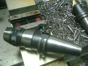 Nikken Npu 13 Cat 40 Keyless Drillk Chuck 0 1 2 Intregal Shank Haas Lyndex