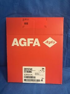 Agfa Drystar Dt2 Mammo Dry Medical Film 100 Nif 25x30 10x12 qty 1