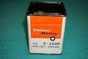 62 72 Chrysle Dodge Plymouth Delco Remy Distributor Contact Points Nos 1972202
