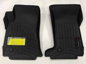 Weathertech Floorliner Mats For Cadillac Cts Coupe 2011 2015 1st Row Black