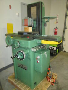 Reid Fayscott 618ha 230 460v 3ph Automatic Surface Grinder W whitnon Spindle