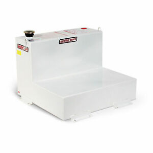 Weather Guard 350301 L shape Transfer Tank White 50 Gallon Capacity Lot Of 1