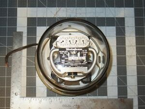 Vintage Westinghouse Watthour Meter Type Cs 15 Amps 240 Volts 3 Wire From Lamp