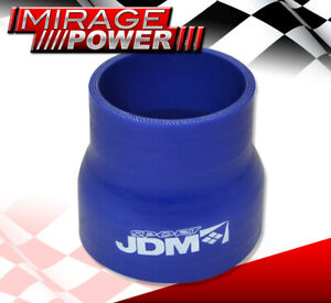 2 5 To 3 Jdm Sport Reducer Silicone Coupler Blue Intercooler For Audi Volvo