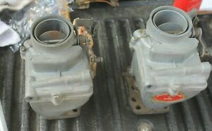1940 1941 Buick 1942 Buick 1946 1949 Rebuilt Carburetor Marvel Pair