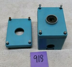 Control Concepts Cbnc A600 p300 Contact Block In Blue Metal Housing Switch