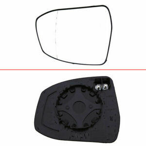 Door Wing Wide Angle Mirror Glass Heated Flat For Ford Focus Mkii 02 08 Mondeo