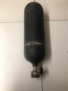 Drager 4500psi Scba Tank Dated 2009 Fireman Rescue Air Cylinder 60 Minute