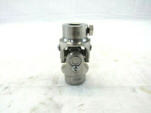 5 8 36 X 3 4 Round Universal Steering Shaft U joint Stainless Steel Bps 3052