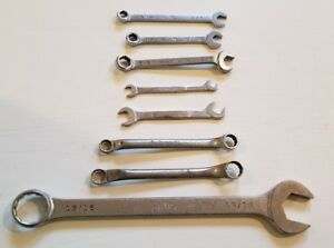 Snap On Mac Blue Point Misc Wrench Lot Of 8