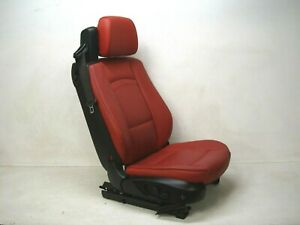 2007 2010 E93 Bmw 328i 335i Convertible Red Front Right Seat Oem Lot373