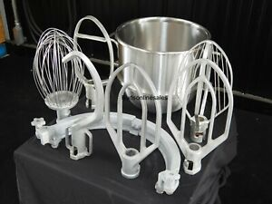 Hobart 60 Qt To 30 Qt Mixer Step Down Reducer Attachments Hook Paddle Whip Bowl