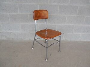 Vintage Mid Century Heywood Wakefield Student Childs Chair