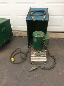 Greenlee 960 Sa ps Hydraulic Power Pump