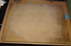 Antique Wood Bread Board Cutting Board Dough Bakers Country Primitive 24