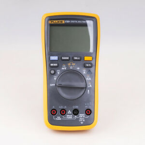 Fluke 17b Auto Range Digital Probe Multimeter Meter Temperature