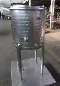 50 Gallon Mueller Stainless Steel Sanitary Jacketed Tank