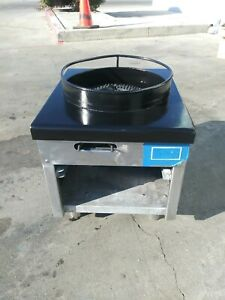 Refurbished Wok Range Double Burner Gas Stratus 6008 Commercial Restaurant Stoc