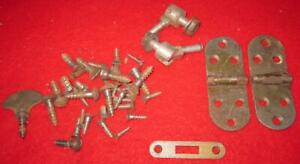 Wheeler Wilson Treadle Sewing Machine Cabinet Hinges Screws