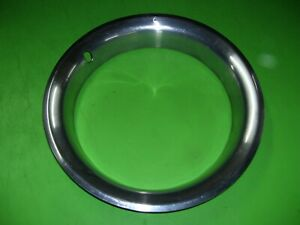 85 Chevrolet Truck 15 Stainless Wheel Rim Beauty Trim Ring Rally Chevy Oem