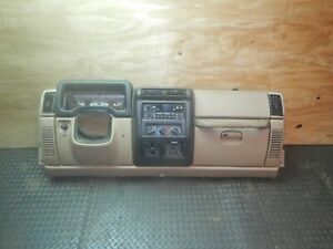 Jeep Wrangler Tj 97 02 Factory Complete Dash Assembly Dashboard Camel