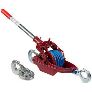 Wyeth scott More Power Puller With Amsteel Blue Rope 2 ton Capacity