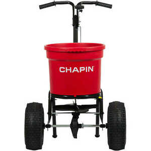 Chapin Commercial Broadcast Spreader Model 82050c 70 Lb Capacity