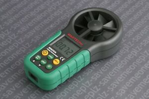 Mastech Ms6252a Digital Anemometer Lcd Electronic Wind Speed Air Volume Meter