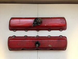 1969 Genuine Oldsmobile Delta 88 455 Gm Oem Valve Cover Set