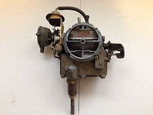 1969 Genuine Oldsmobile Delta 88 455 Gm 2 Jet Rochester Carburetor 7040159