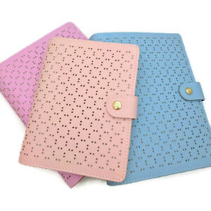 A5 Size 6 Ring Perforated Leather Planner Organizer Unbranded