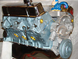 400 Pontiac High Performance Balanced Crate Engine With Edelbrock Aluminum Heads
