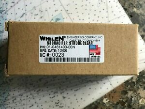 Whelen S30hac Replacement Strobe Light Bulb Clear 01 461403 00n New In Box